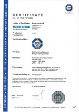 NLX: Certificate TÜV Product Service