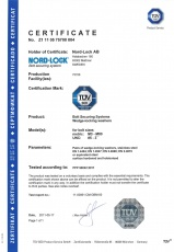 NLss: Certificate TÜV Product Service