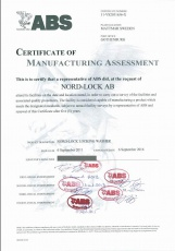 NL: ABS Certificate of Manufacturing Assessment