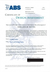 NL: ABS Certificate of Design Assessment